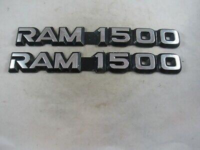 Pair of OEM 1994-2001 Dodge Ram 1500 Truck Emblems
