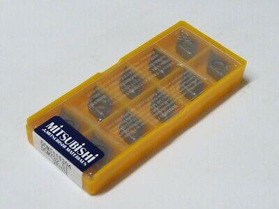 10 Pcs Mitsubishi Carbide Inserts Dcmt 32.51 Dcmt 11t304 Grade Vp15tf