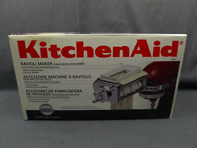Used KitchenAid  Ravioli Maker KRAV - Stand Mixer Attachment