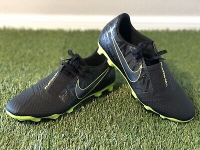 New Nike PHANTOM VENOM FG Soccer Cleats Black/Volt Men's Size 8 AO0566-007