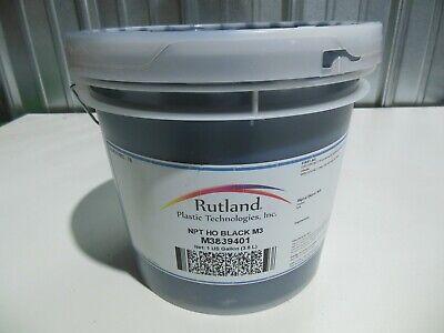 Rutland Npt Ho Black M3 Plastisol Mixing Ink - M3839401 Unopened Gallon