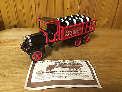 Coastal 1925 Kenworth Stake Truck With Barrels Bank  5Th In A Series  1 34 Scale
