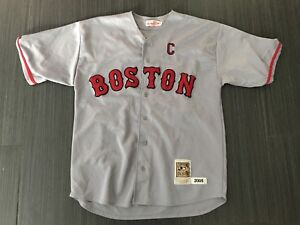 Majestic Jason Varitek Boston Red Sox Baseball Jersey