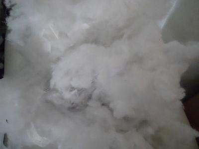 10 KG Bastellwatte Füllwatte Stopfwatte Watte aus Deckenproduktion weiß