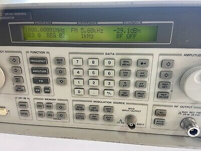 Hp 8648c 9 Khz - 3200 Mhz Rf Signal Generator