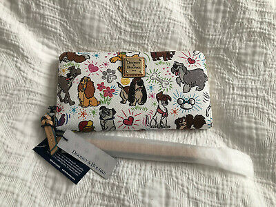 NWT Disney Dooney Dogs Sketch Wallet