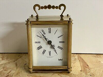 Smiths Astral Vintage Style Brass Carriage Clock. VGC