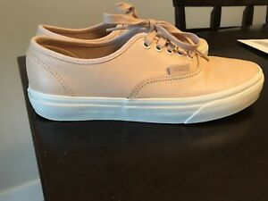 Veg tan vans authentic size 7