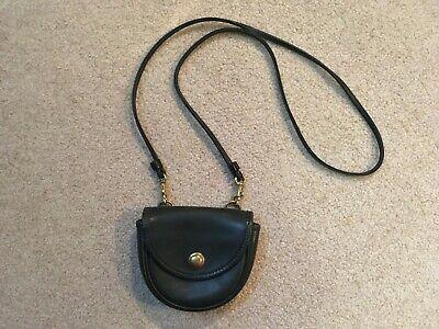 Vintage COACH Bonnie Cashin Mini Crossbody Forest Green Leather Bag