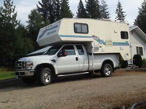 FOR SALE OR TRADE , 2008 F350 Ford 4x4 plus 1996 10.5 Camper