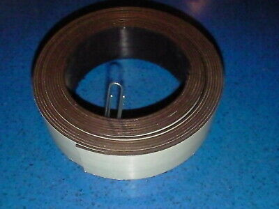 Industrial Craft Flexible Magnetic Adhesive Backed Tape 1 12x15x116 Black