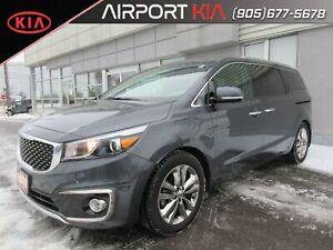 2017 Kia Sedona SXL 7 seater/Heated seats& steering/Sunroof/Came