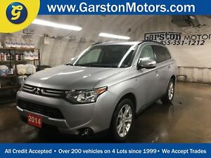 2014 Mitsubishi Outlander GT*S-AWC*NAVIGATION*LEATHER*POWER SUNR