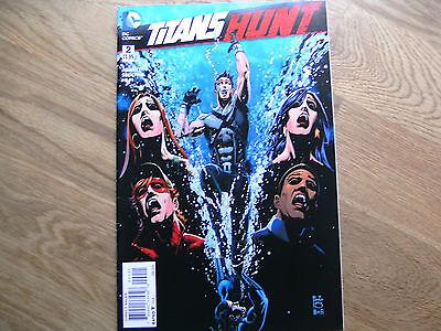 DC Titans Hunt graphic comic issue #2 Jan 2016 NEW! Abnett Segovia Richard Grays