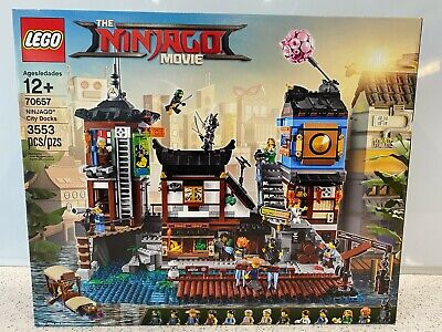 LEGO 70657 The LEGO Ninjago Movie - NINJAGO City Docks New Unopened NIB