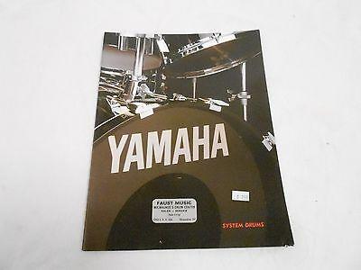 VINTAGE MUSICAL INSTRUMENT CATALOG #10044 - (1985) YAMAHA SYSTEM DRUMS