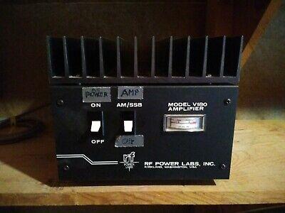 Rf Power Labs Model V180 Amplifier Amp Vhf Electronics Rare Vintage Resale Lot