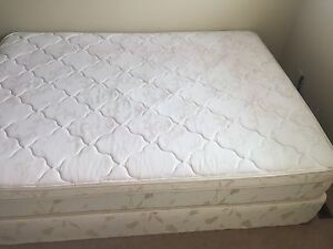 Mattress with spring box