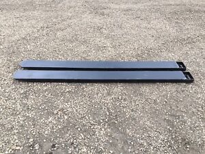 Skid Steer / Bobcat Pallet Fork Extensions on Sale