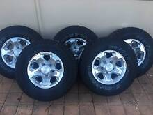 Toyota Land Cruiser 79 Series GXL Rims and Tyres - all new! Warwick Joondalup Area Preview