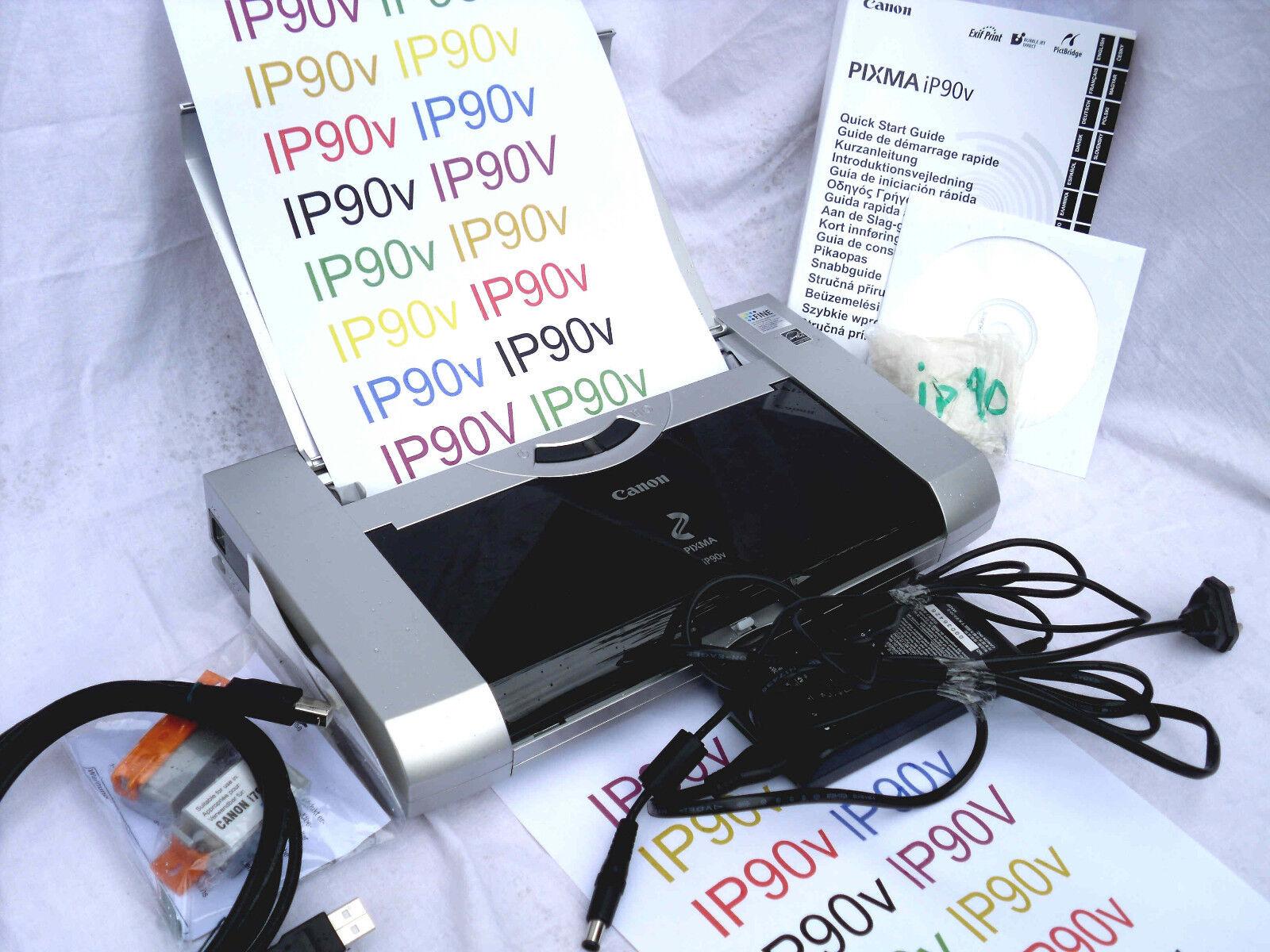 Canon PIXMA iP90 Tintenstrahldrucker Laptopdrucker mit mindestens 97 % Leistung