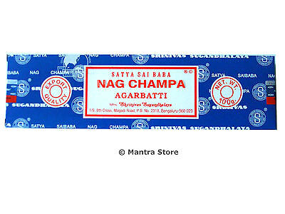 Nag Champa 100 Grams Box Original Satya ...