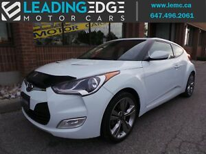 2013 Hyundai Veloster Tech Nav, Huge Sunroof, 6 Speed Manual