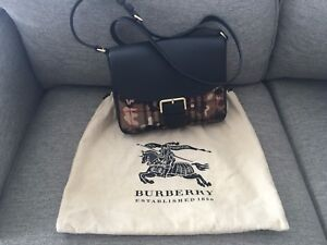 BURBERRY horse ferry camouflage women's crossbody bag