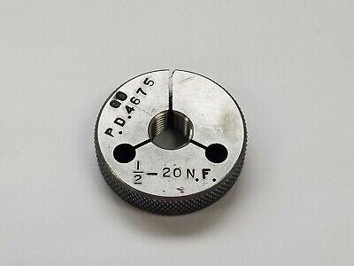 12-20 N.f Thread Ring Gage Go Pd .4675