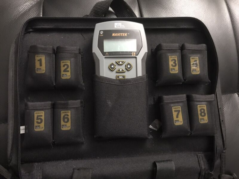 Ideal Navitek Network Tester With Carrying Case