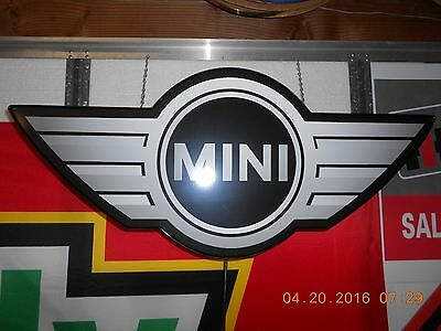 Mini Cooper Lighted Sign