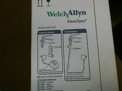 Welch Allyn Kleenspec Vaginal Speculum 59004 Large - Box Of 18