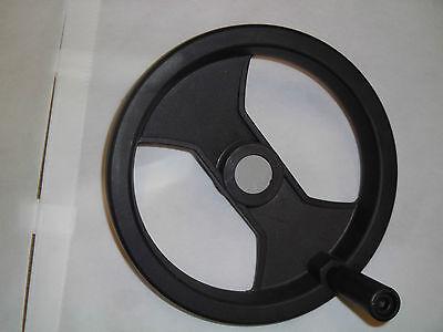 Stellrad (Handrad Stellrad mit fester Kurbel, demontierbar und drehbar - Durchmesser 250)