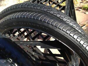 """Pair of freestyle 20"""" tyres , Bmx bike"""