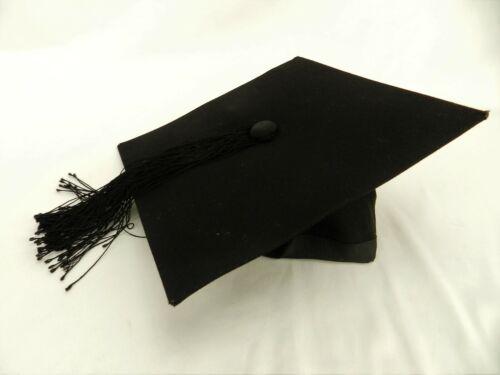 EDE & RAVENSCROFT 7 1/4 LUXURY GRADUATION PROFESSOR HAT CAP MORTAR BOARD R12