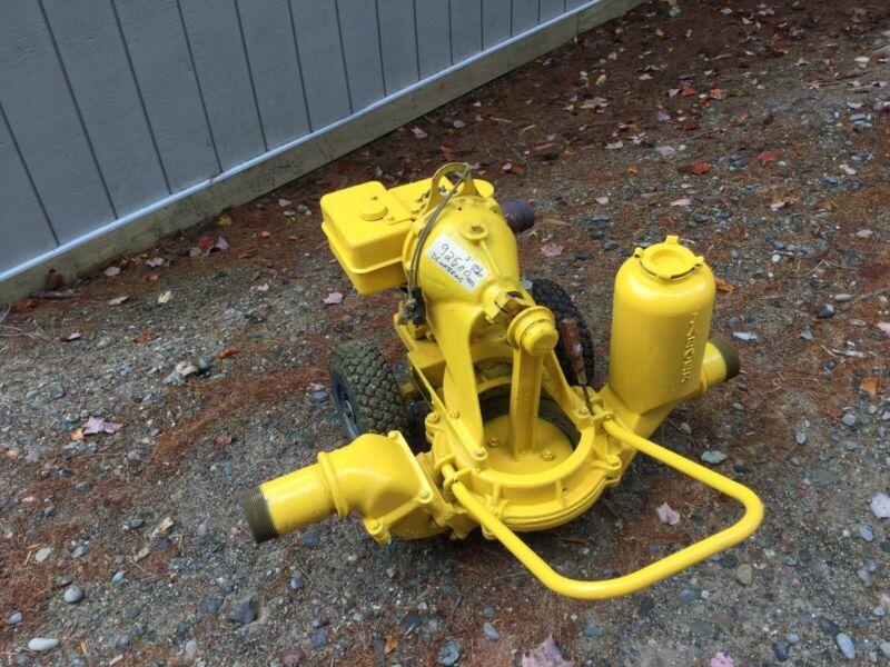 """Jaeger diaphragm pump, 3"""""""