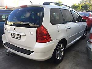 2006 Peugeot 307 XSE HDi Touring 2.0D MY06 Touring Wagon Waratah Newcastle Area Preview