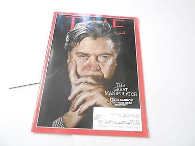 Feb  13 2017 Time Magazine Steve Bannon The Great Manipulator
