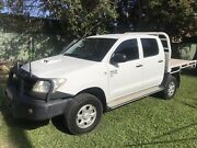 2009 Toyota Hilux Dual Cab SR Diesel Strathpine Pine Rivers Area Preview
