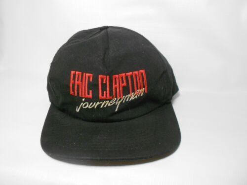 Vintage Eric Clapton Journeyman Tour Snapback Hat Cap BAD SHAPE *FREE SHIPPING*