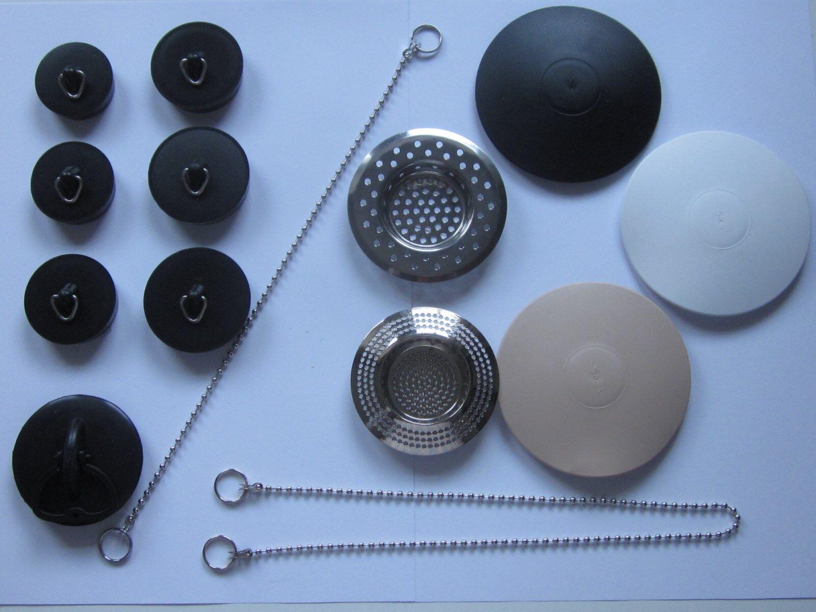 Abflussstopfen, Abfluss-Stöpsel, Abfluss-Stop,Abfluss-Sieb/Kette, Haarfangsieb