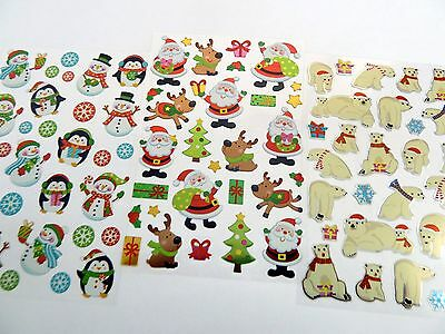 Fun Christmas Xmas Stickers for Kids Labels for Craft Card-making & Decoration ()