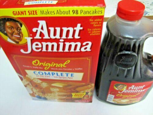 Pan Cake Mix and Original Syrup