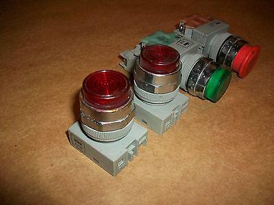 4pc Idec Push Buttons E-stop