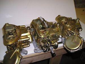 440 340 Six Pack 427 Corvette Tri-Power RESTORATION SERVICE ONLY SEE DESCRIPTION