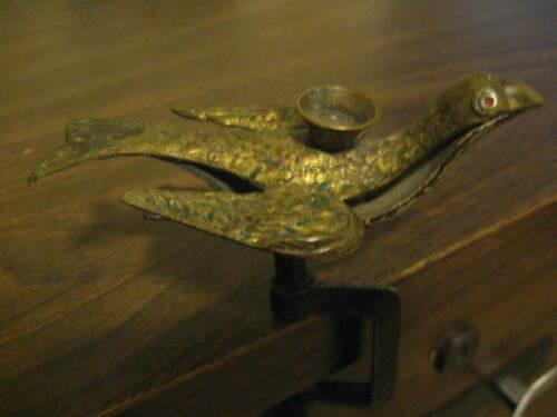 ANTIQUE VICTORIAN THIRD ARM SEWING BIRD