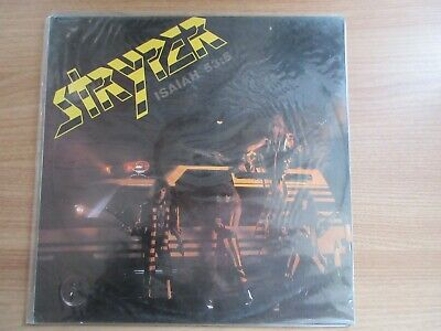 Stryper – Soldiers Under Command 1987 Korea Orig LP SEALED NEW RARE No Barcode