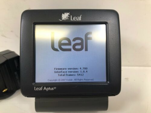 Leaf Aptus 22 Digital Back for Mamiya, Phase One 645 AF DF Camera