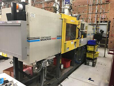 2 1997 110 Ton Fanuc Milacron Roboshot Injection Molding Machines Model 110r