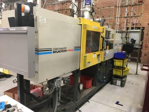 (2) 1997 110 Ton Fanuc Milacron Roboshot Injection Molding Machines, Model 110R